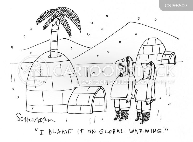ice houses cartoon