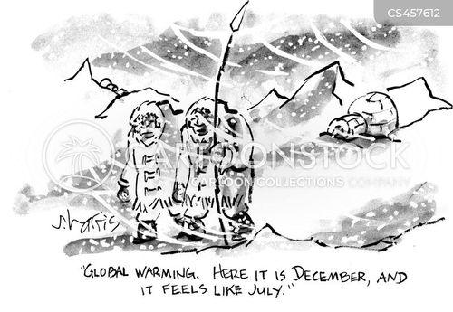 global-warming cartoon