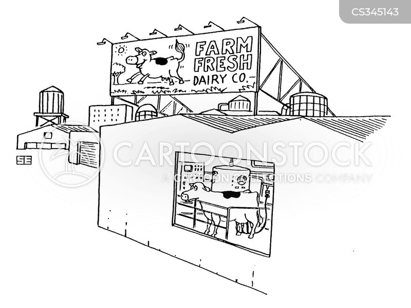 animal farming cartoon