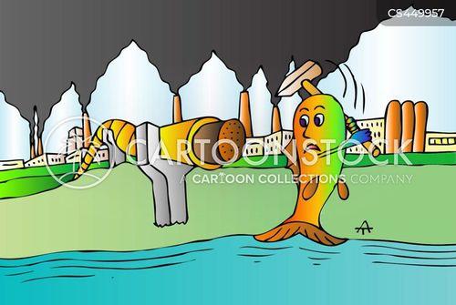 greening cartoon