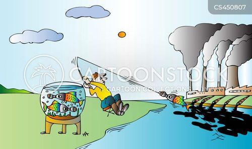 biohazard cartoon