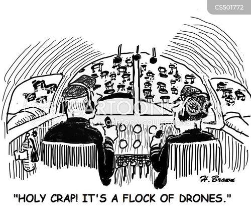 flight crew cartoon