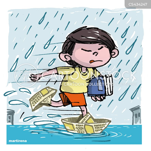 rain-fall cartoon