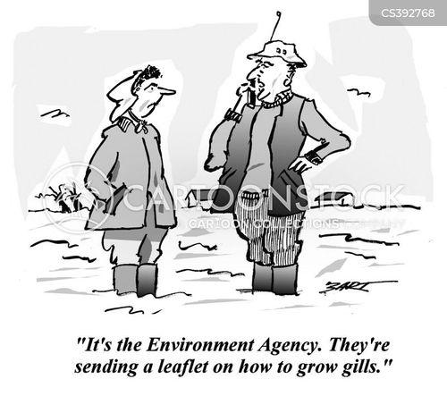 environment agency cartoon