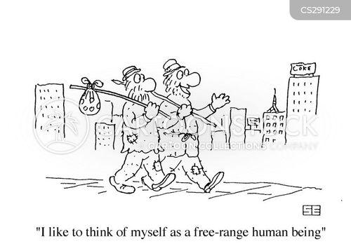 range cartoon