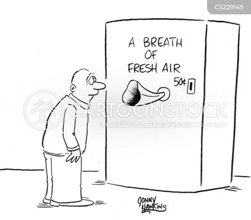 clean air cartoon