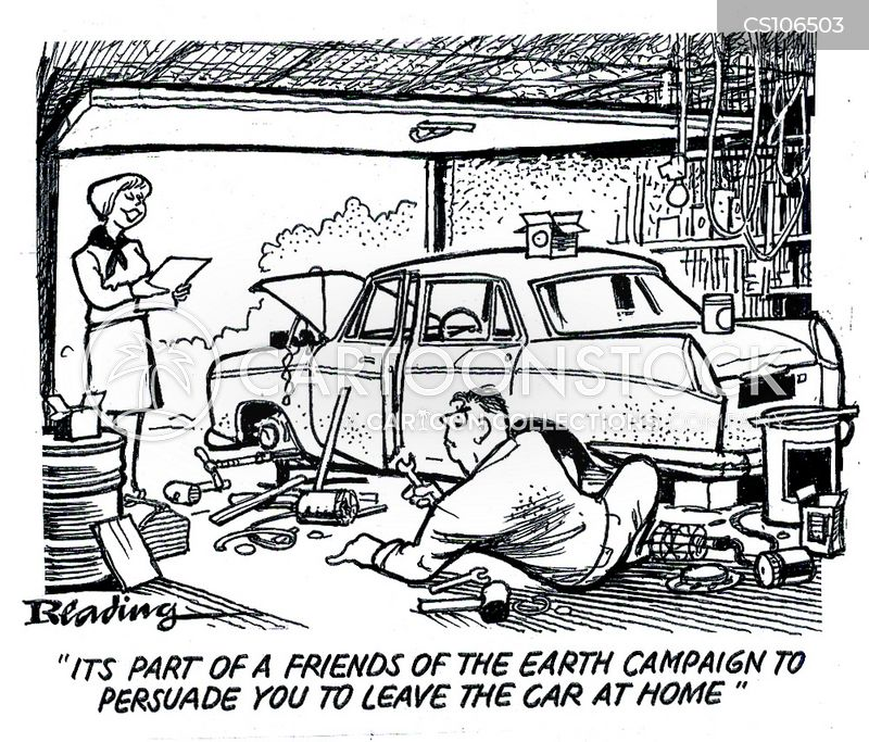 exhaust fumes cartoon