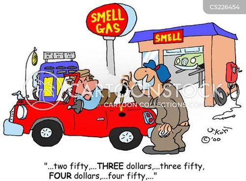 price of oil cartoon