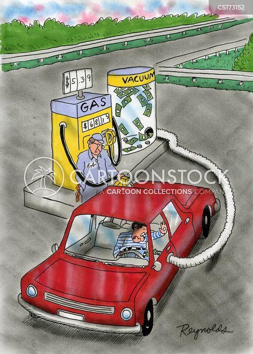 vacuuming cartoon