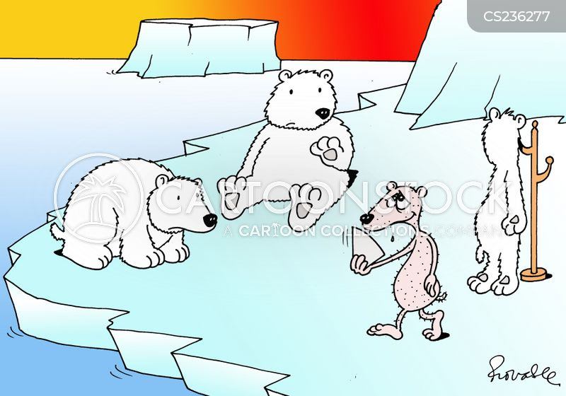 temperature increase cartoon