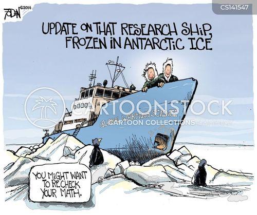 arctic expedition cartoon