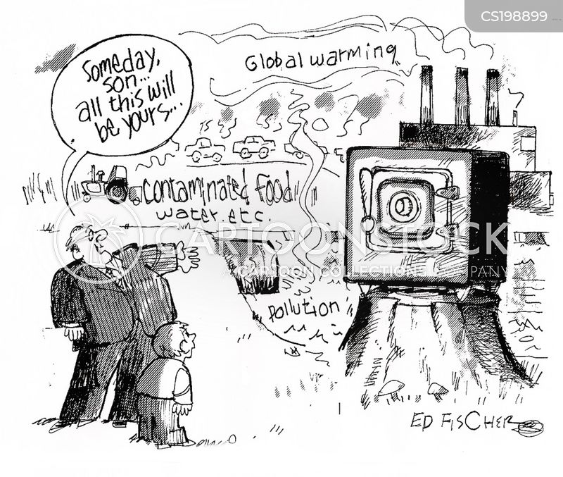 gases cartoon