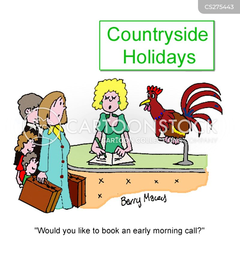 country side cartoon