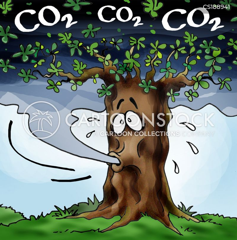 greenhouse gas cartoon