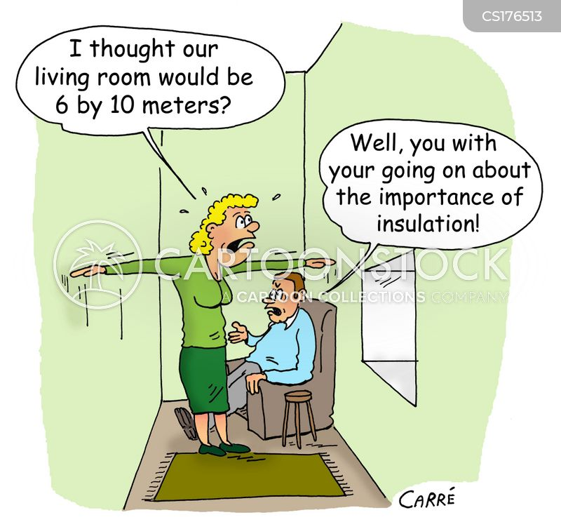 insulate cartoon