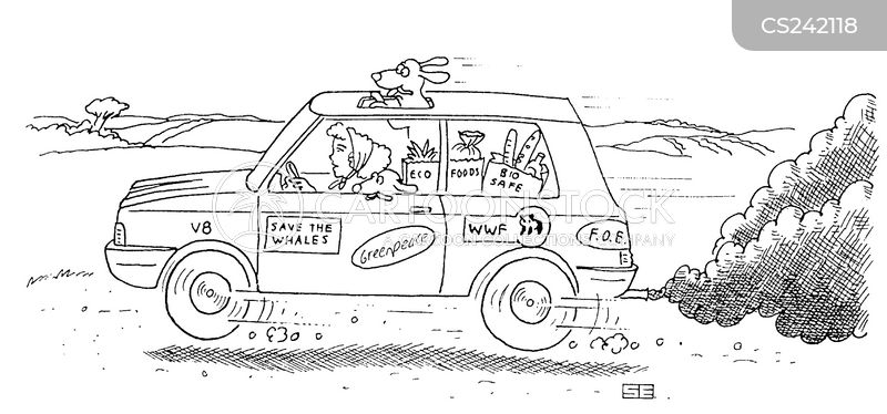 car pollution cartoons and comics funny pictures from cartoonstock