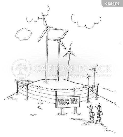 wind mill cartoon