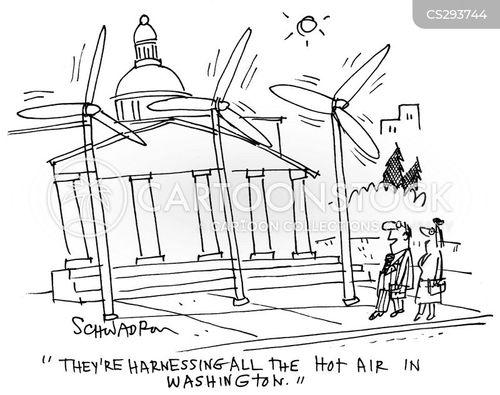 wind generator cartoon