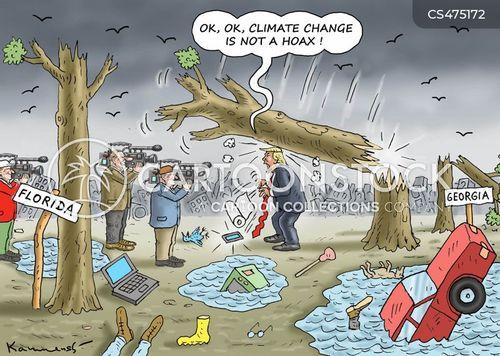 flip-flopping cartoon