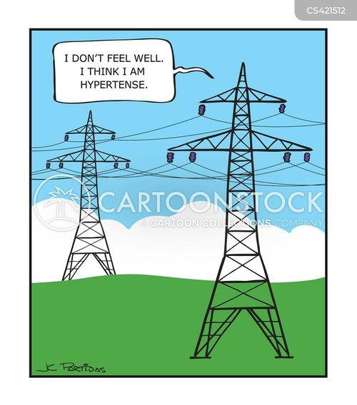 hypertension cartoon