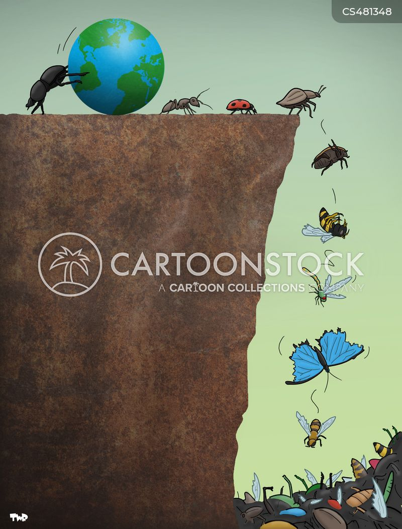 insect population cartoon