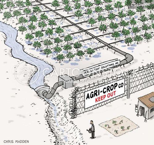 irrigation cartoon