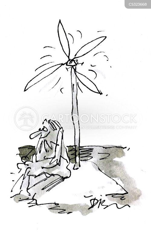 alternative energy source cartoon
