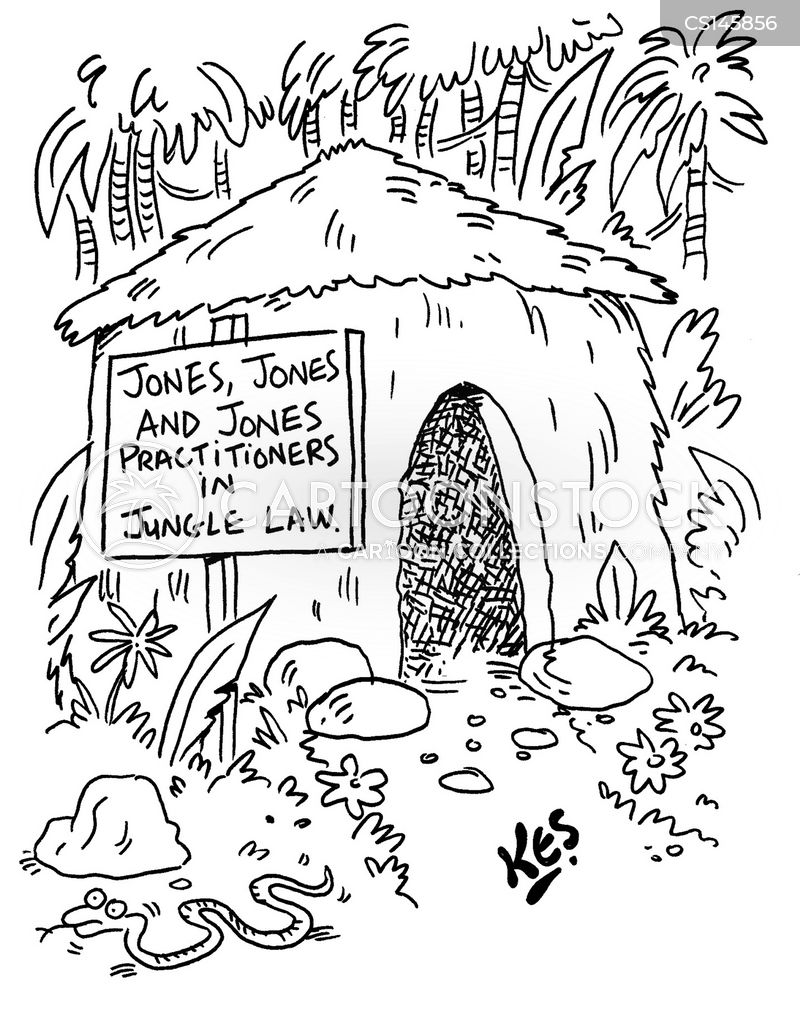 mud huts cartoon