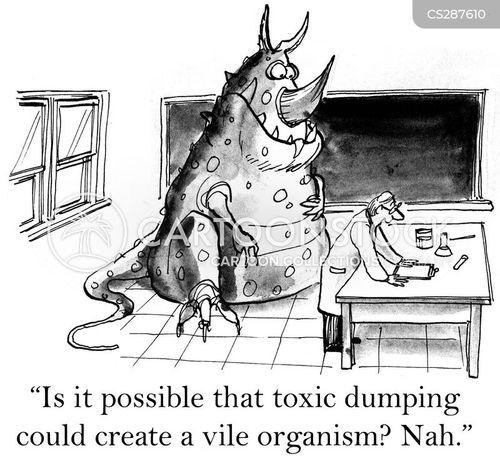 organism cartoon