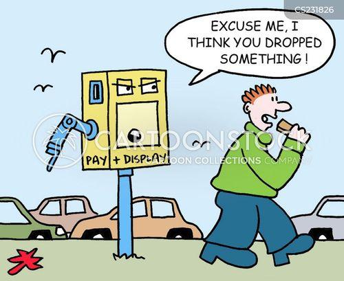 dropping litter cartoon