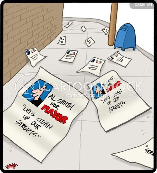 leaflet cartoon