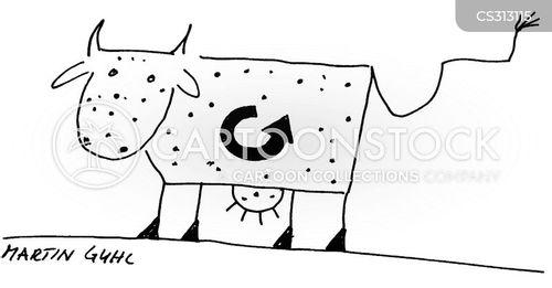 processed foods cartoon