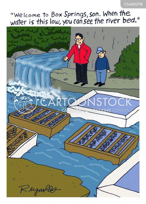 riverbed cartoon