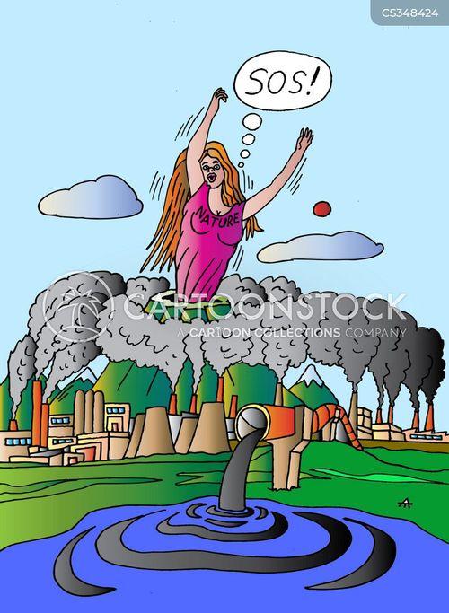 mother earth cartoon