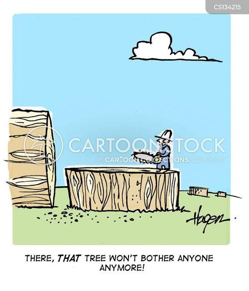 chainsaws cartoon