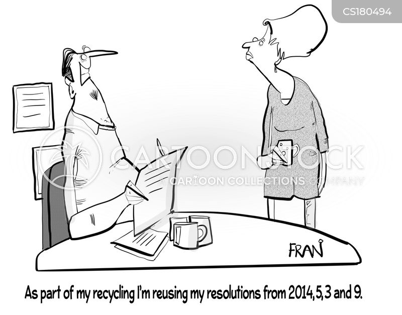 reuse cartoon