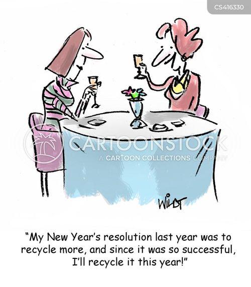 recyclers cartoon