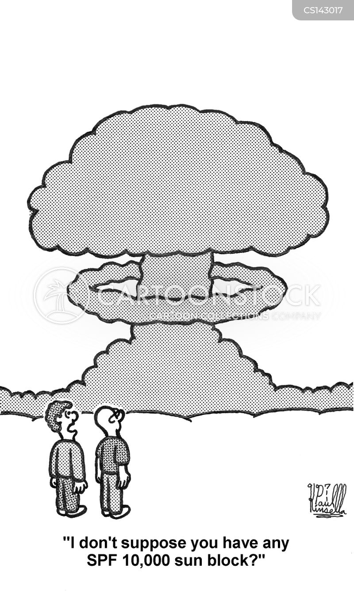 radiations cartoon