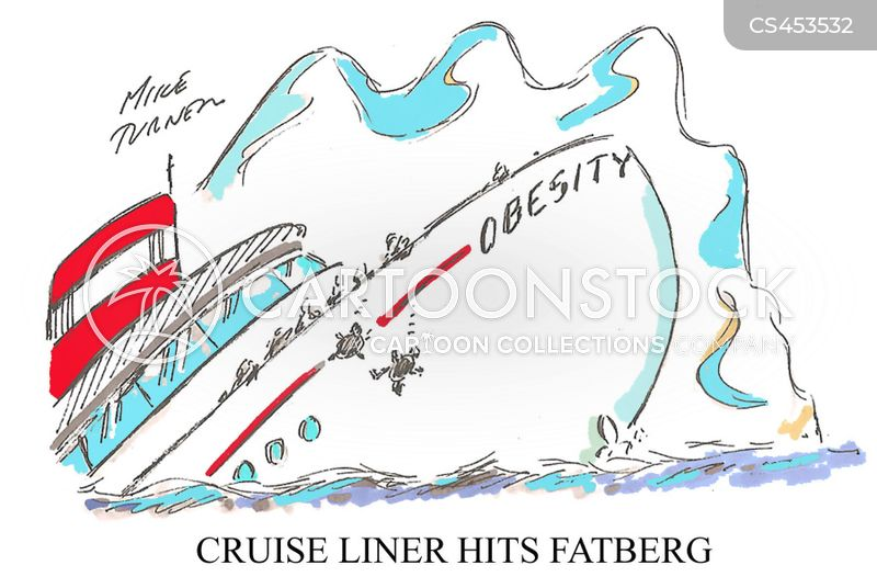 cruise liners cartoon