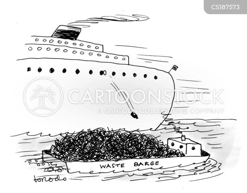 Rubbish Barge cartoons, Rubbish Barge cartoon, funny, Rubbish Barge picture, Rubbish Barge pictures, Rubbish Barge image, Rubbish Barge images, Rubbish Barge illustration, Rubbish Barge illustrations