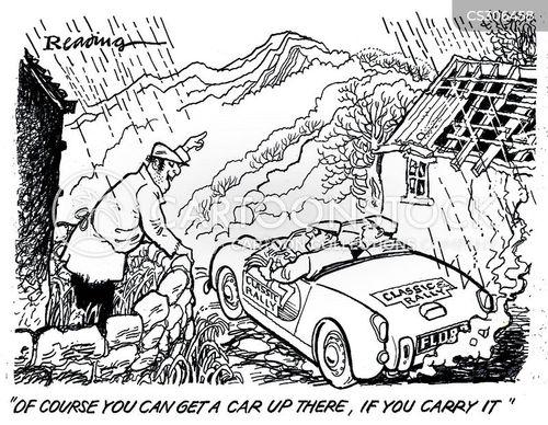 off roader cartoon