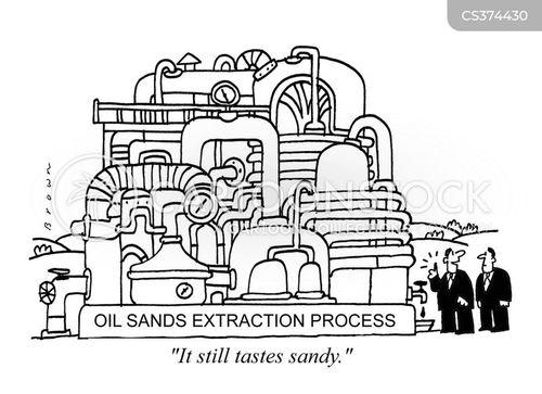 oil sands cartoon