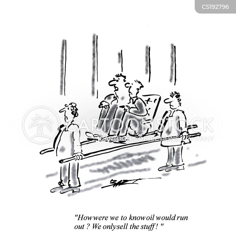 energy companies cartoon