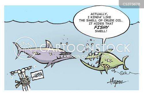 fishy smell cartoon