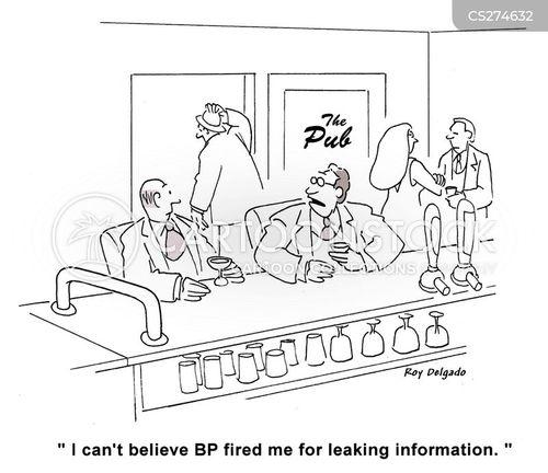 leakers cartoon