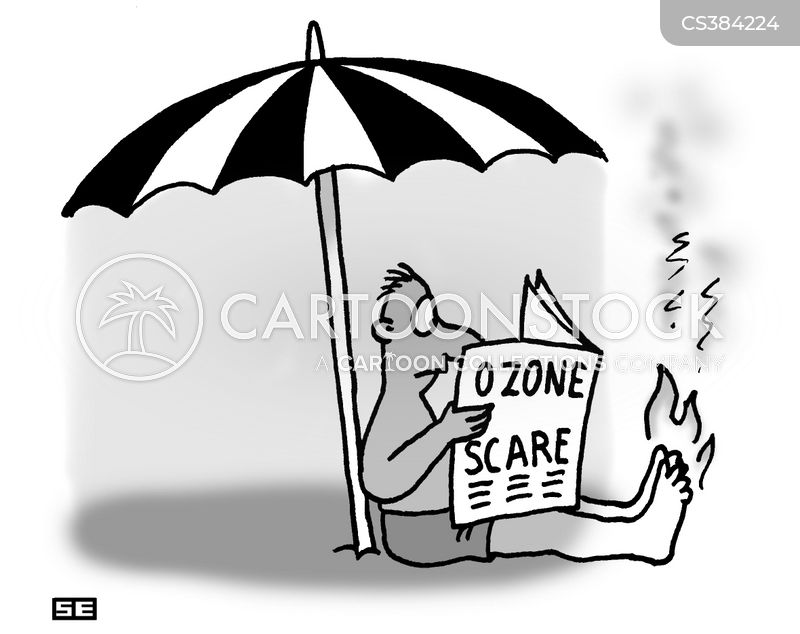 ozone layers cartoon