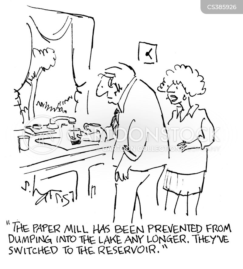 reservoir cartoon