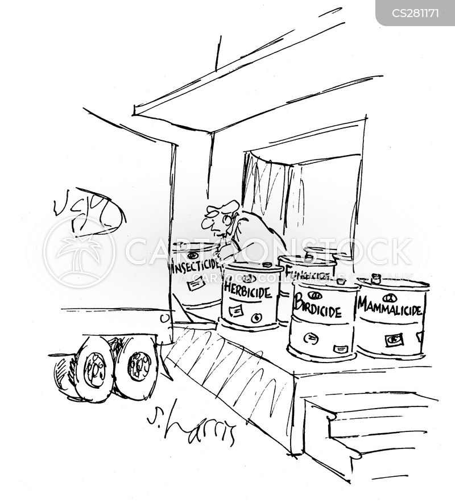deliveryman cartoon