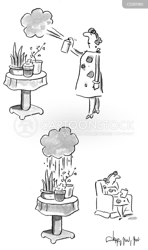 aerosols cartoon