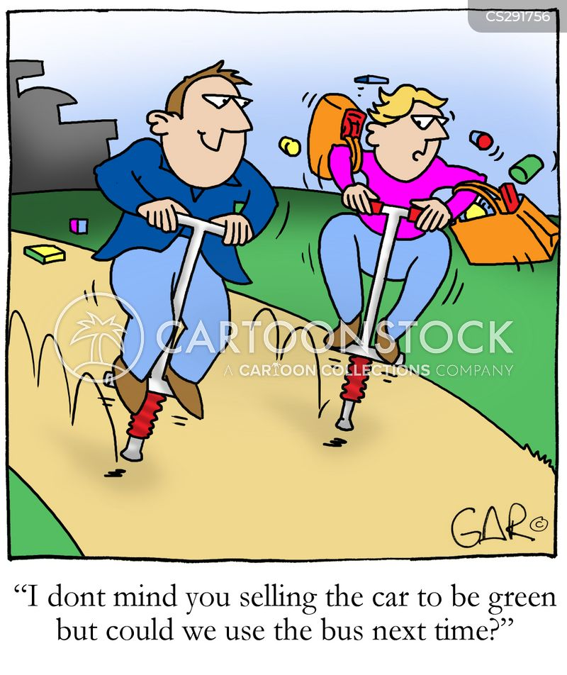 pogo stick cartoon